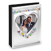 Personalized heart frame & album